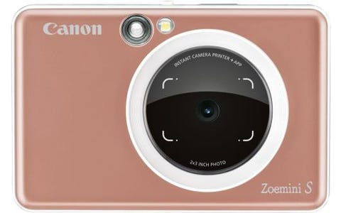 Canon Zoemini S Pocket Size 2-in-1 Instant Camera (10 Shots) - Rose Gold